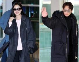 Kim Tae Hee tới Việt Nam, Bi (Rain) đi công tác tại Singapore