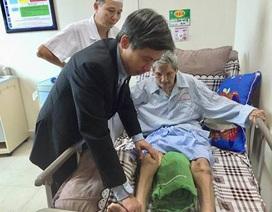 """7 ngày sau phẫu thuật khớp háng, cụ ông 101 tuổi """"đi"""" lại được"""