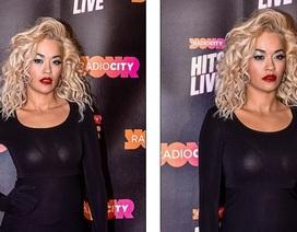 Rita Ora gợi cảm với áo xuyên thấu