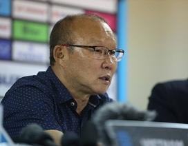 """HLV Park Hang Seo: """"Ngôi đầu bảng với tuyển Việt Nam rất quan trọng"""""""