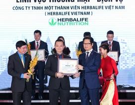 Herbalife: Top 10 doanh nghiệp thương mại dịch vụ bền vững Việt Nam 2018