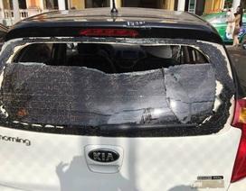 """Cô gái """"phi"""" ô tô vào công an tỉnh lánh nạn nói về nguyên nhân bị đuổi đánh"""