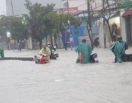 TPHCM mưa trên 150mm, 39 tuyến đường bị ngập