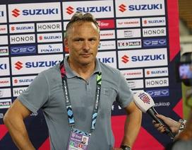 HLV Myanmar nói gì sau khi bị loại khỏi AFF Cup 2018?