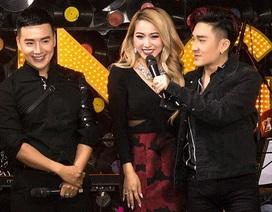 Quang Hà đi xe sang, bị khán giả nữ ôm chặt trên sân khấu