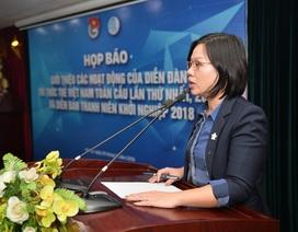 Sắp khai mạc Diễn đàn Trí thức trẻ Việt Nam toàn cầu lần thứ 1