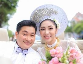 Hoa hậu Đại dương Đặng Thu Thảo được đón dâu bằng xe mui trần