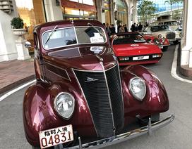 """""""Soi"""" chi tiết những chiếc xe cổ từ Hồng Kông tới Hà Nội"""