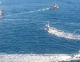 """Tàu hải quân Nga tiến về """"điểm nóng"""" Azov giữa lúc căng thẳng với Ukraine"""