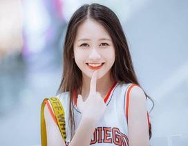 Nữ sinh Nam Định sở hữu nụ cười răng khểnh rất đáng yêu