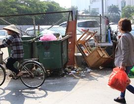 Hà Nội: Dự án bãi đỗ xe thông minh biến thành... bãi rác