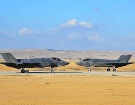 Phòng không Syria báo động khi Israel nhận thêm tiêm kích tàng hình F-35