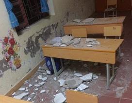 TP. Hải Phòng yêu cầu huyện rút kinh nghiệm để vữa trần rơi đầu học sinh