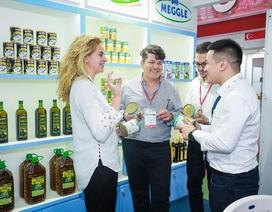 """Gian hàng Nhất Lâm thu hút khách tham quan tại triển lãm """"Food & Hotel Hanoi 2018"""""""