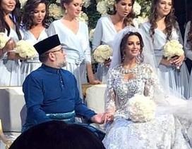 Nhà vua Malaysia kết hôn với cựu Hoa hậu Nga