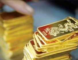 Giá vàng đồng loạt giảm mạnh