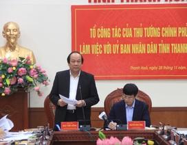 """Chính phủ lưu ý Thanh Hóa khắc phục tình trạng """"quan lộ thần tốc"""""""