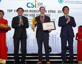 Vinh danh DN Việt Nam điển hình phát triển bền vững