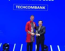 Techcombank dẫn đầu thị trường về doanh số thanh toán qua thẻ Visa tại VN