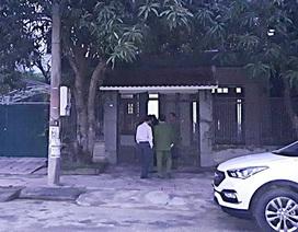 Công an khám nhà nguyên lãnh đạo BIDV chi nhánh Hà Tĩnh
