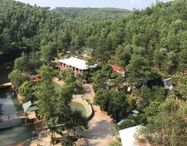 """Sẽ tháo dỡ công trình """"chui"""" trên đất rừng Quảng Ninh"""