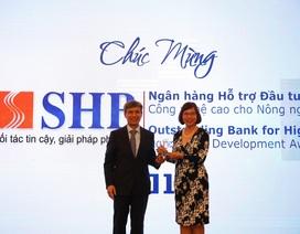 SHB được vinh danh là ngân hàng hỗ trợ đầu tư công nghệ cao cho nông nghiệp sạch