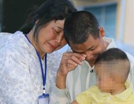 Nam phạm nhân bật khóc nức nở khi lần đầu nghe tiếng con trai