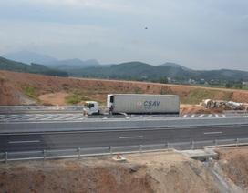 Cao tốc Đà Nẵng - Quảng Ngãi: Nút giao chậm tiến độ 6 tháng vì sụt lún quá mức