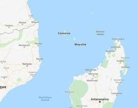 Phát hiện sóng địa chấn lạ reo suốt 20 phút ngoài khơi Ấn Độ Dương