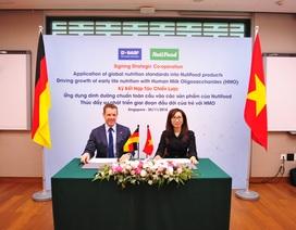 Hợp tác với Tập đoàn dinh dưỡng châu Âu vì sự phát triển của trẻ em Việt
