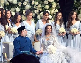 Malaysia không hay biết Nhà vua kết hôn với cựu hoa hậu Nga