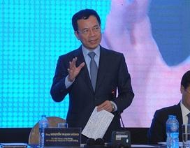 """Bộ trưởng Nguyễn Mạnh Hùng: """"Để start up vươn ra toàn cầu, điểm nghẽn là tiếng Anh"""""""