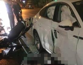 Vụ xe máy va chạm xe Audi: Tài xế ô tô vi phạm nồng độ cồn