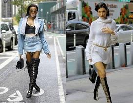Dàn siêu mẫu sành điệu đi thử đồ cho show Victoria's Secret