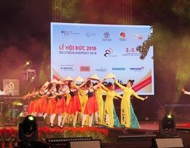 """Dấu ấn quan hệ Việt - Đức trong lễ hội """"Trải nghiệm nước Đức ở Hà Nội"""""""