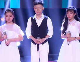 Hồ Quỳnh Hương khiến thí sinh Giọng hát Việt nhí bật khóc