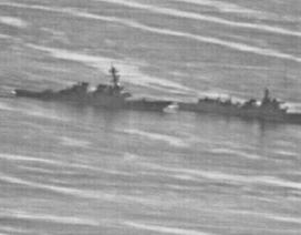 Video chưa từng công bố về khoảnh khắc tàu chiến Mỹ-Trung suýt va chạm trên Biển Đông