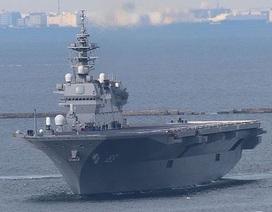 """Hành động """"lạ"""" của thủy thủ tàu Trung Quốc khi tàu chiến Nhật Bản qua Biển Đông"""