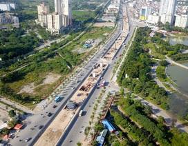Diện mạo đường Phạm Văn Đồng sau khi chặt hạ hàng cây cổ thụ