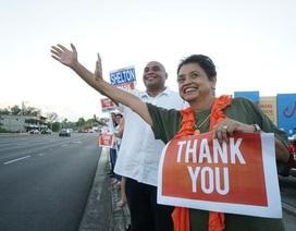 Thắng lợi bước đầu của đảng Dân chủ Mỹ: Guam có nữ thống đốc đầu tiên
