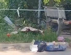 Trẻ sơ sinh nghi bị sát hại, miệng bị nhét giấy bỏ thi thể bên đường