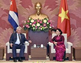 Chủ tịch Quốc hội: Việt Nam luôn ủng hộ sự nghiệp cách mạng của Cuba