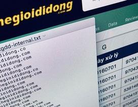 Cục ATTT điều tra nghi vấn lộ dữ liệu khách hàng Thế giới di động