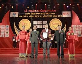 Ngói màu SCG -  Top 20 nhãn hiệu hàng đầu Việt Nam và Top 10 sản phẩm Vàng Việt Nam 2017