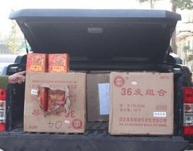 Công an tỉnh Bắc Giang Liên tiếp bắt giữ gần 6 tạ pháo nổ