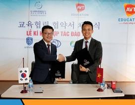 AVT Education kí kết hợp tác với nhiều trường Đại học hàng đầu Hàn Quốc
