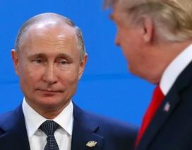 Ông Trump và ông Putin lạnh lùng chạm mặt nhau ở hội nghị G20