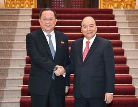 Thủ tướng: Việt Nam sẵn sàng chia sẻ với Triều Tiên kinh nghiệm thu hút đầu tư
