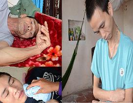 Cuộc sống khốn cùng của 3 cha con người cựu chiến binh cùng mắc bệnh teo não