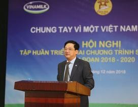 Hà Nội thực hiện tập huấn triển khai chương trình sữa học đường